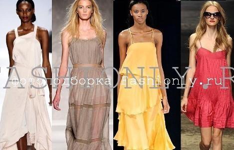 Модные сарафаны 2011