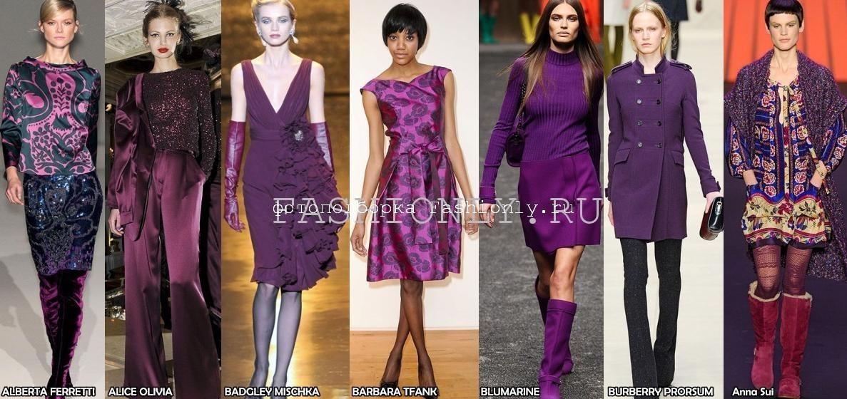Модные цвета осени 2011 - флокс!