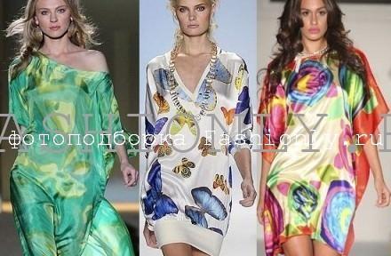 Модные туники 2011 - весна!