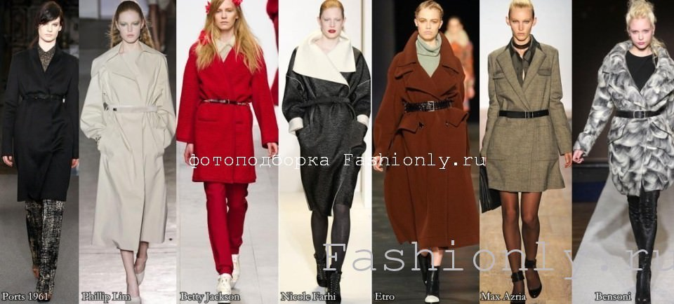 Распашное пальто осень 2011