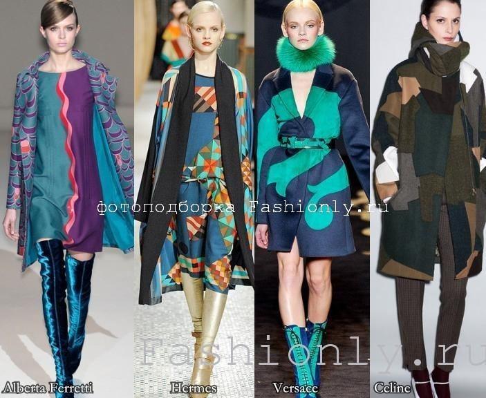 Пальто: осень 2011 в принтах!