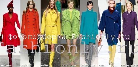 Модное пальто осень 2011 Image