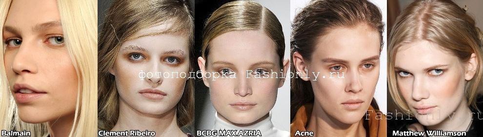 Коричневый макияж 2011 фото