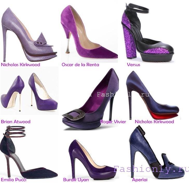 Туфли 2011 фото модных цветов и материалов! Image