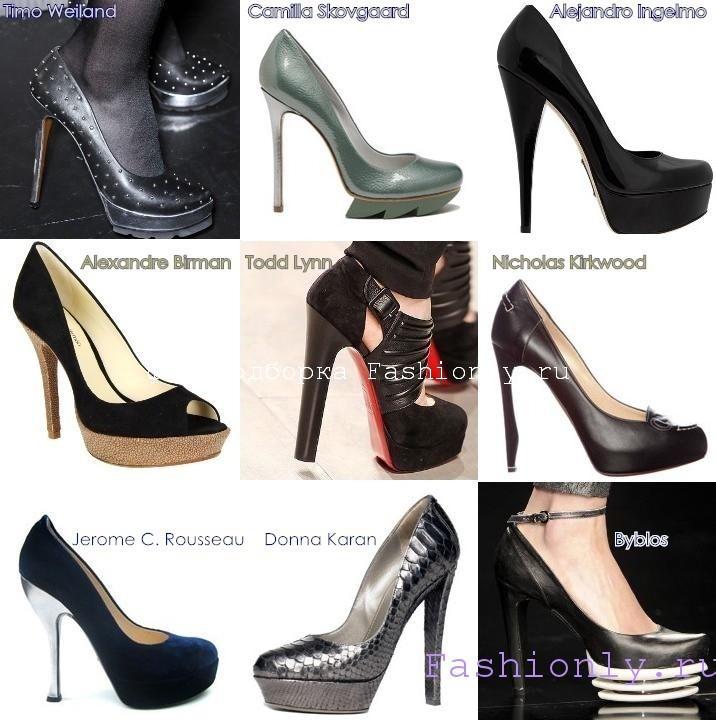 Туфли на соень 2011