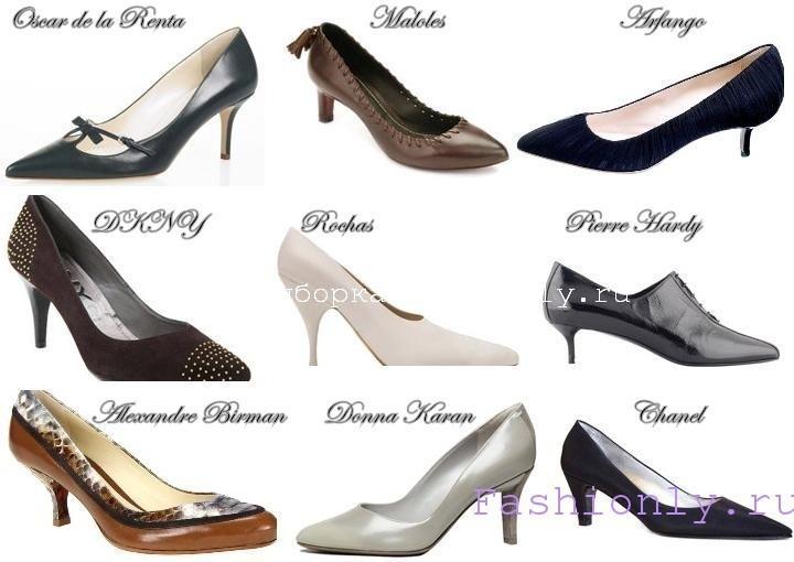 Модные туфли 2011 осень