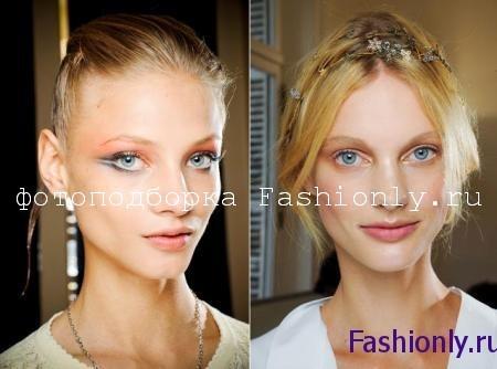 Натуральный макияж для Нового года 2012