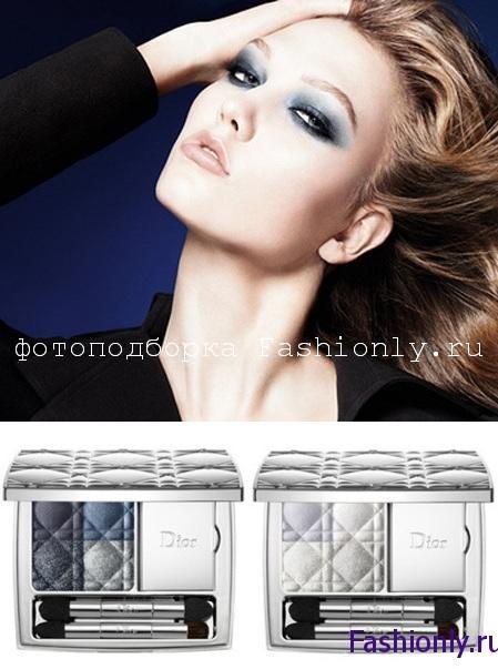 Синий Макияж на Новый Год 2012