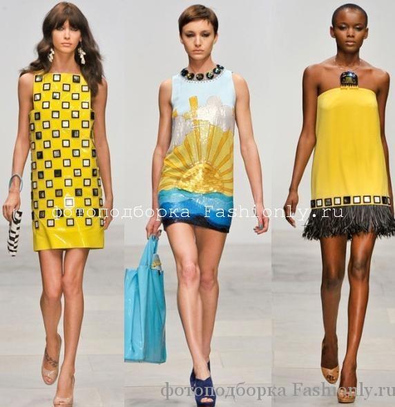 Коллекция Holly Fulton весна лето 2012