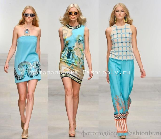 Новая коллекция Holly Fulton весна лето 2012