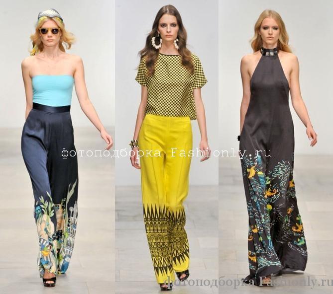 Коллекция Holly Fulton весна лето 2012 - брюки и комбинезоны