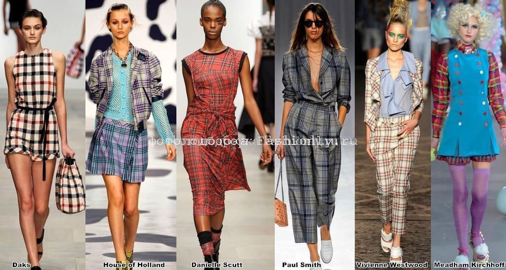 Модные тенденции Лондона - сезон весна 2012