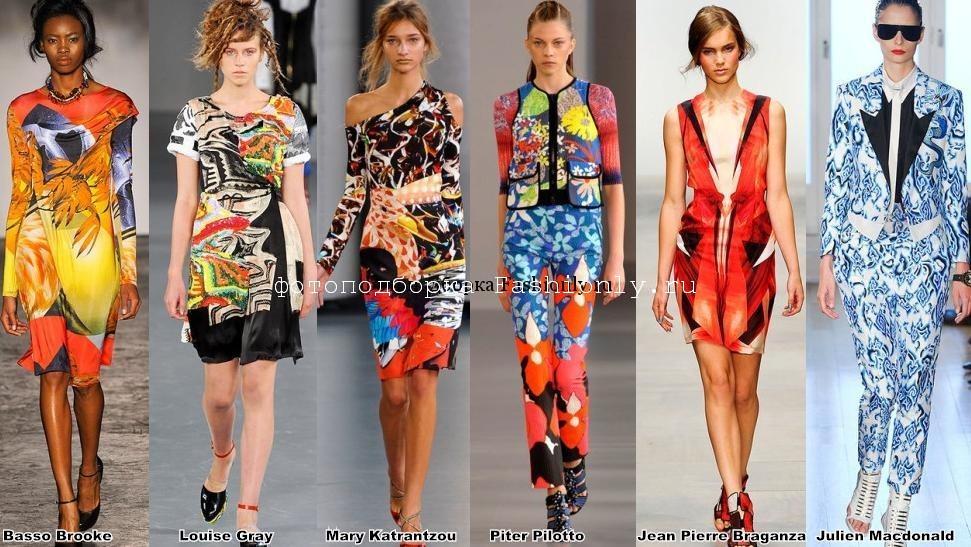 Лондонские Модные тенденции весна 2012 года