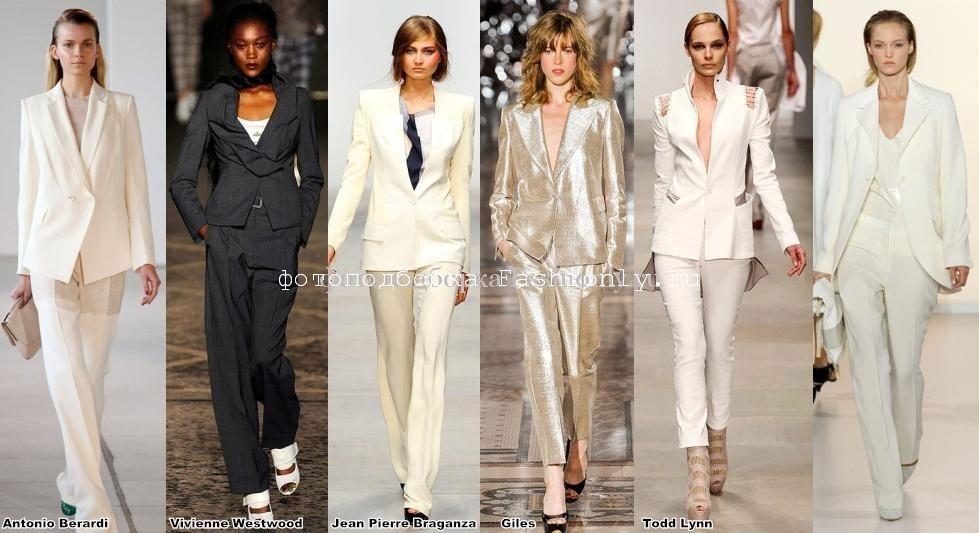 Лондонские модные тенденции весны 2012 фотоотчет