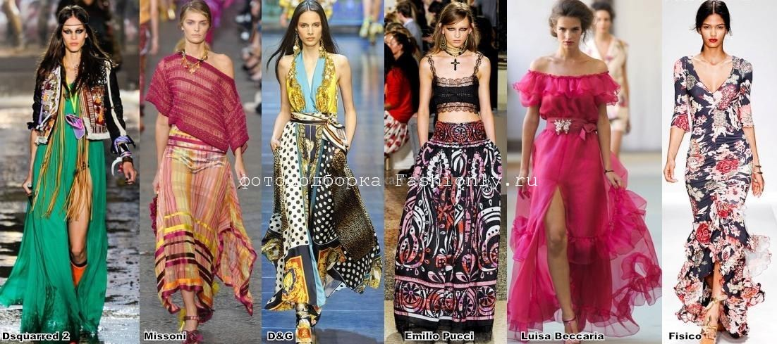 Миланская мода весна лето 2012