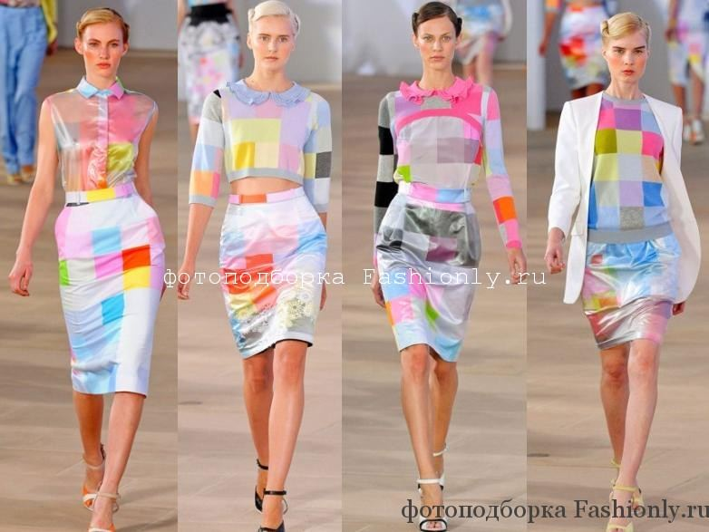 Коллекция одежды от Preen - весна лето 2012