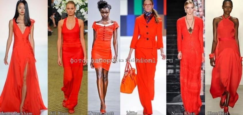 Модные цвета дизайна