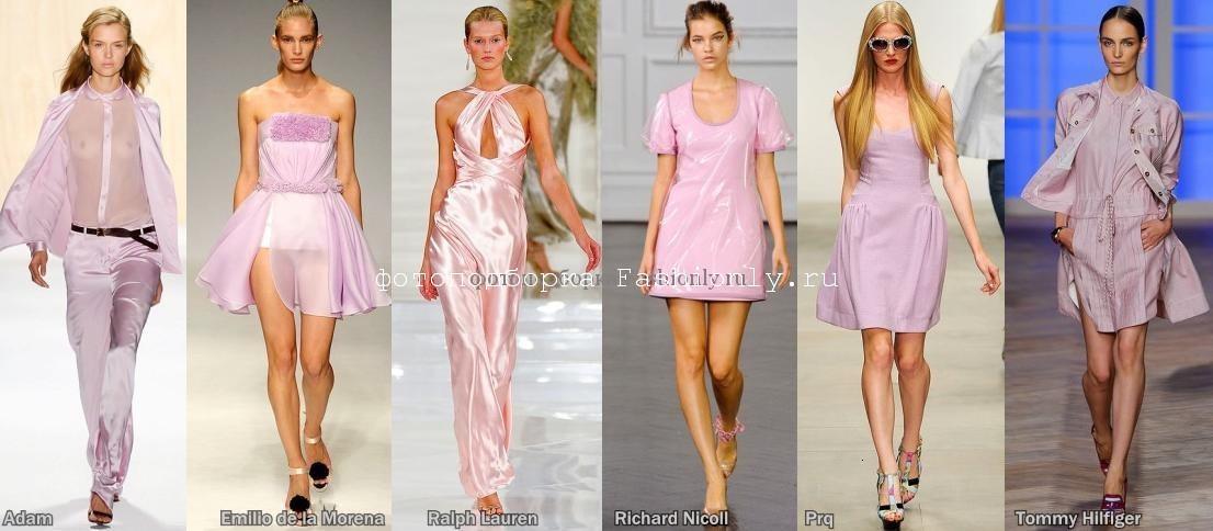 Модные цвета 2012 года