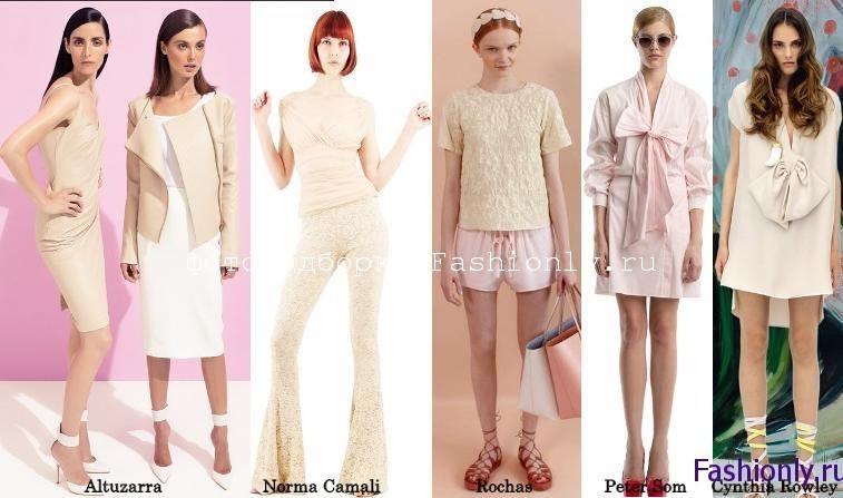 Мода весна 2012 выбрает пастель
