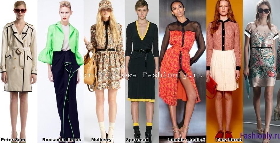 Весна 2012 мода в деталях