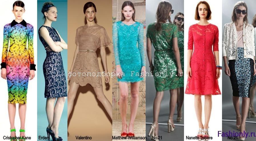 Мода 2012 года весна лето