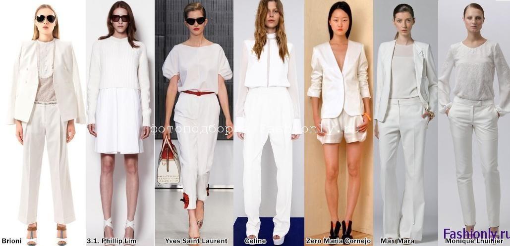 Мода весна 2012 вся в белом