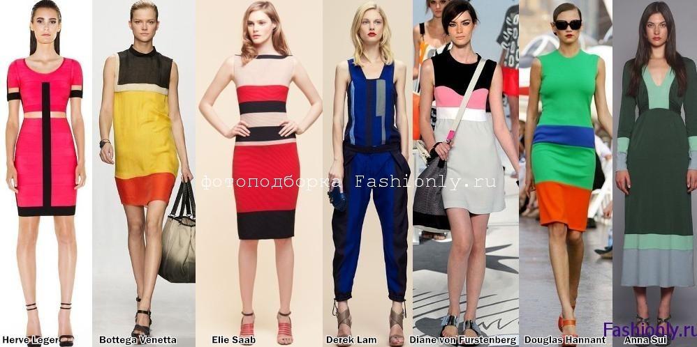 Модные принты весны 2012