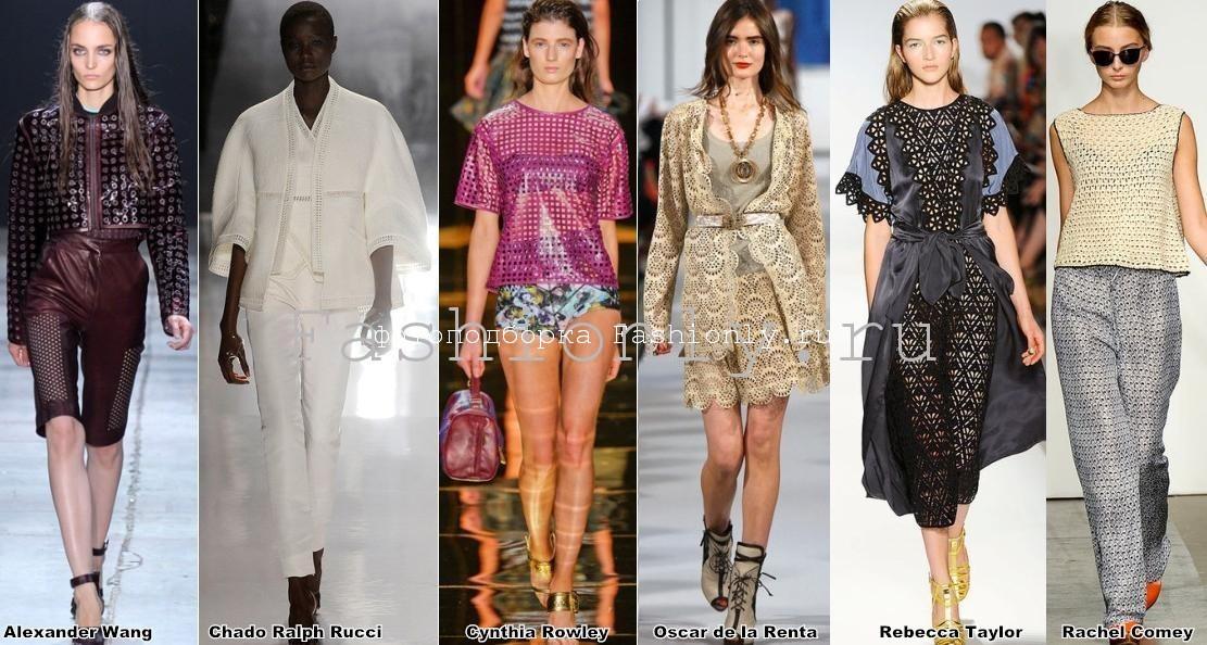 Тенденции моды сезона весна лето 2012 года в Нью-Йорке