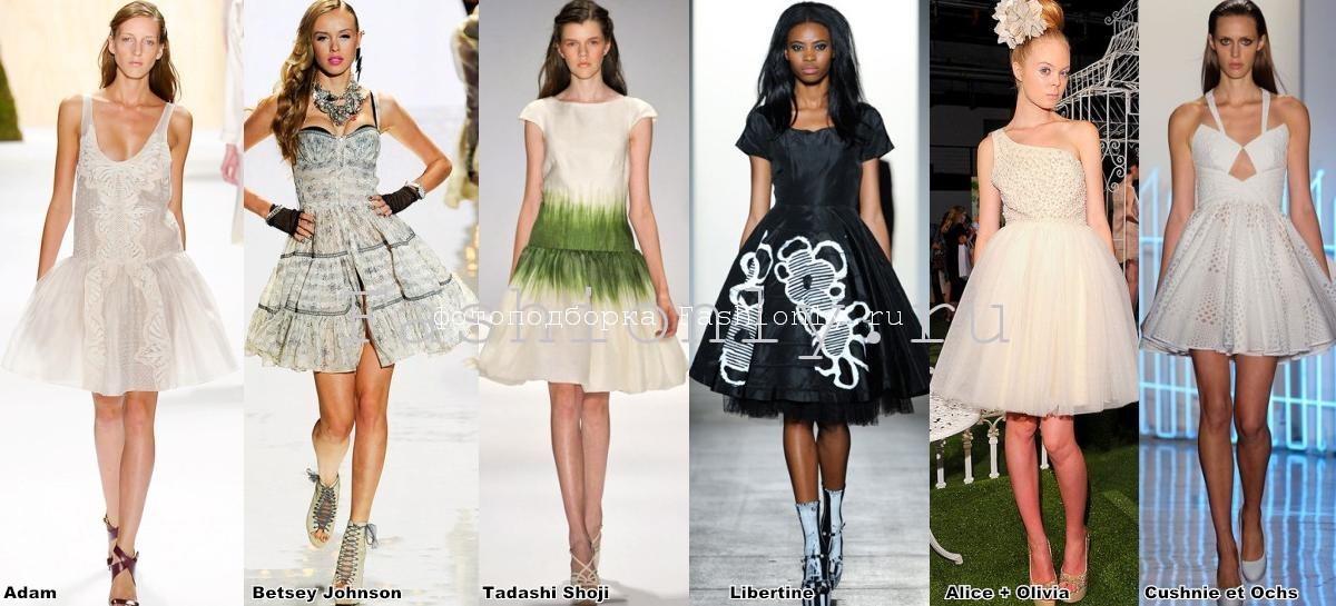 Нью-Йоркские тенденции моды сезона весна лето 2012 года