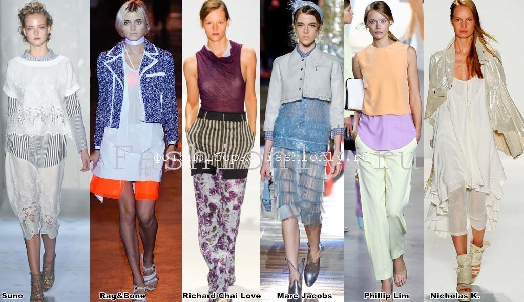 Весенние тенденции нью-йоркской моды 2012 года