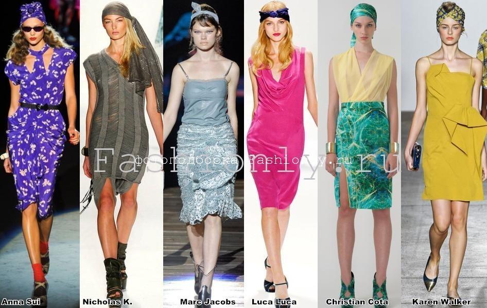 Весенние тенденции моды 2012 года в Нью-Йорке