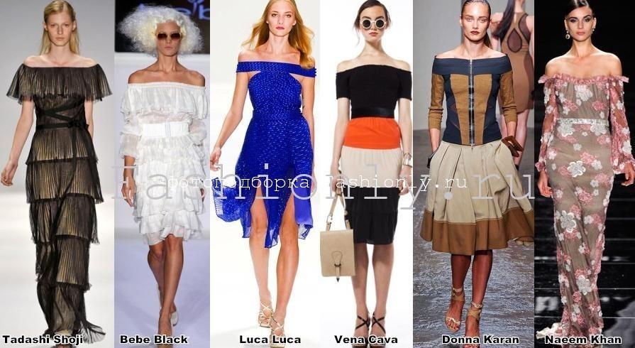 Весенние тенденции моды 2012 фото с Нью-Йоркских показов