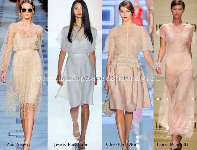 Что будет модно одевать весной 2012 года?