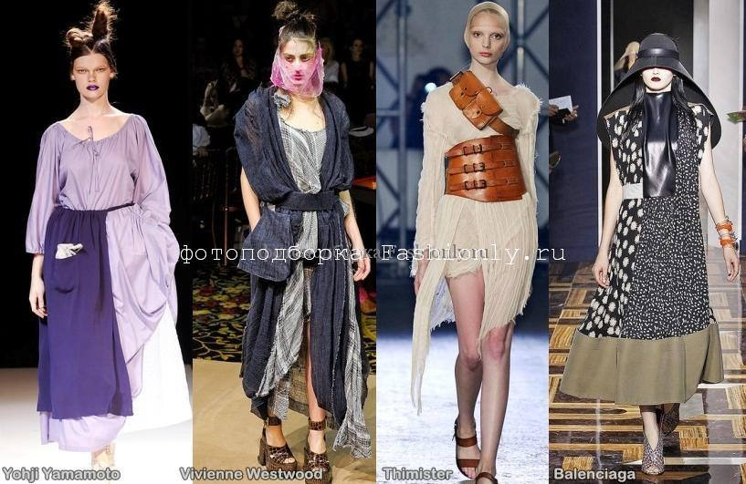 Парижские тренды моды 2012 - сезон весна лето