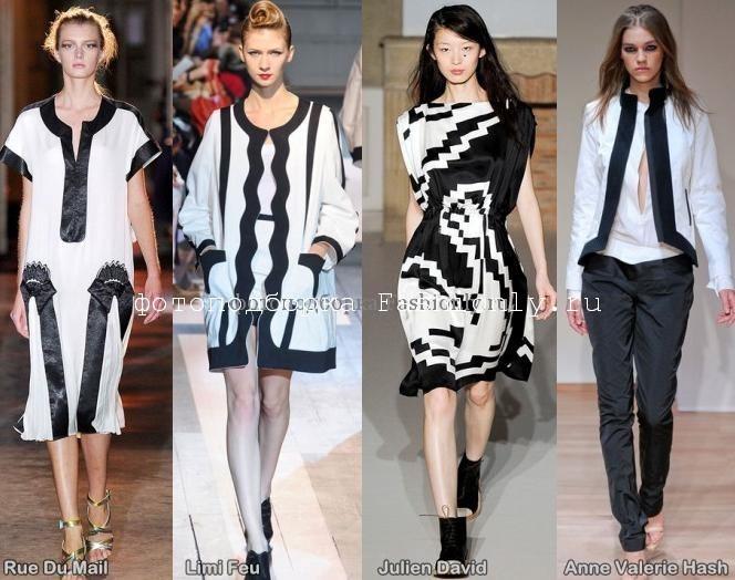 Парижские тренды весны 2012 года