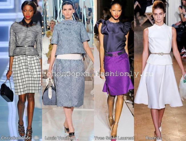 Парижская неделя моды сезона весна лето 2012 года