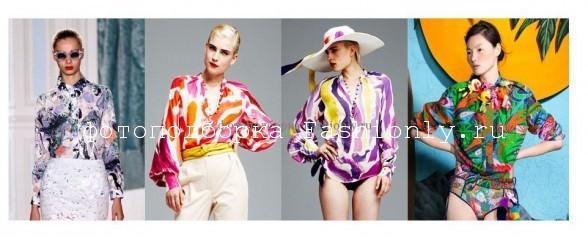 Модные блузки весна-лето 2012 Image