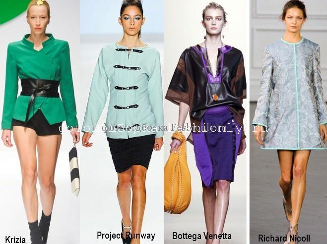 В моде японский крой в одежде