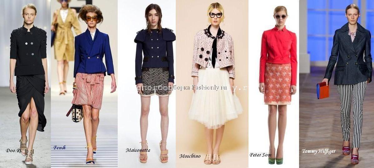 модные жакеты весна 2012