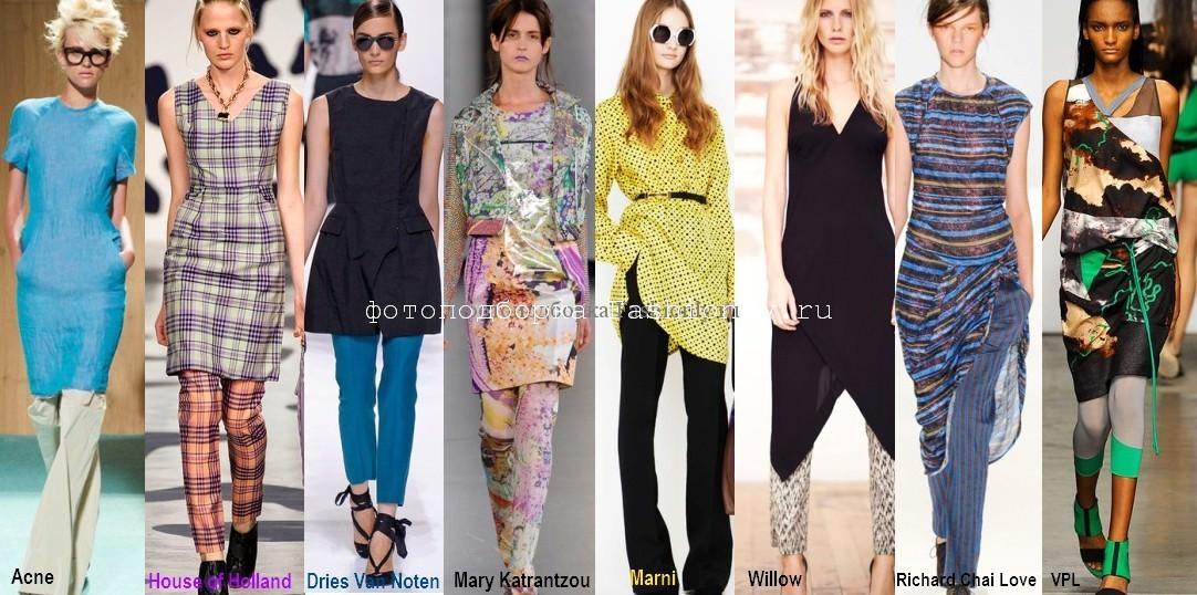 Платья с брюками