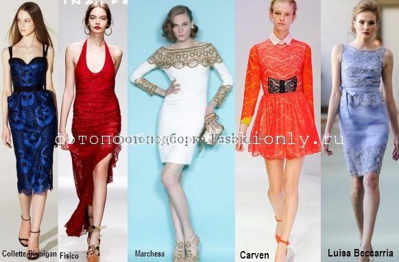 Крудевные платья весна лето 2012