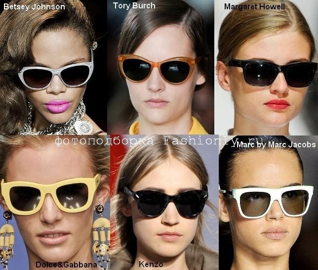 Модные очки вайфареры - весна лето 2012
