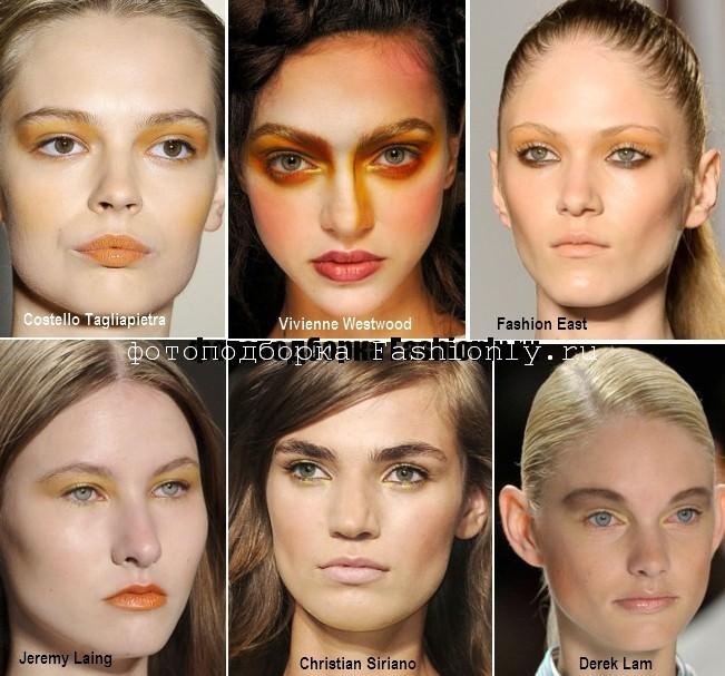 Весенний макияж глаз - 2012