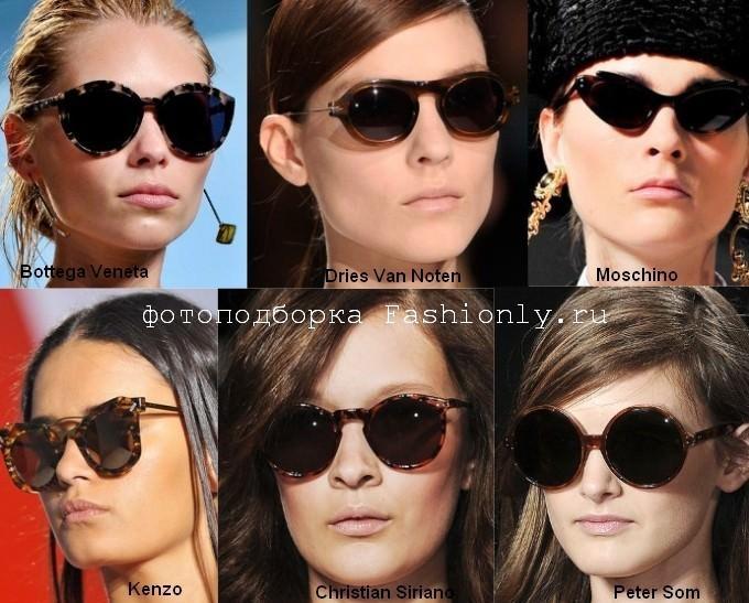 Модные очки 2012 - весна в леопардовой оправе