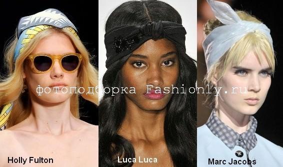 Косынки мода 2012 года