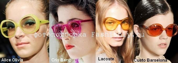 Модные очки 2012 — весна Image