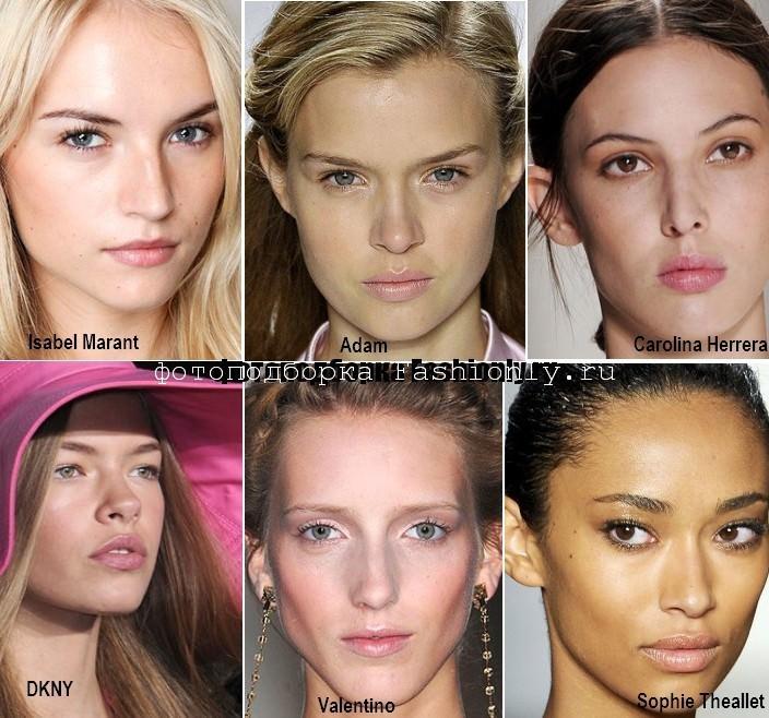 Розовый макияж 2012