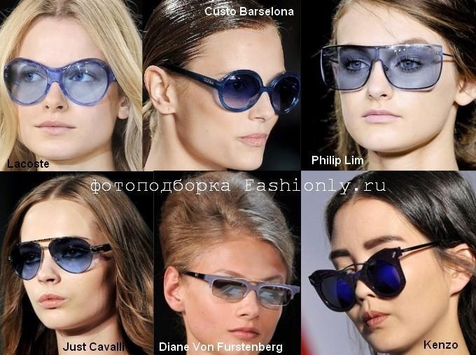 Модный цвет солнцезащитных очков 2012