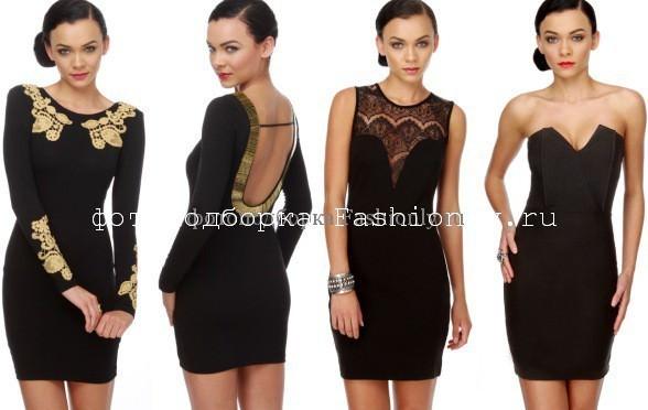Мини платья на Новый год 2012