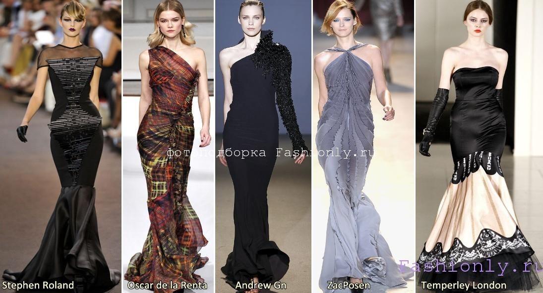 Фото платьев на Новый Год 2012